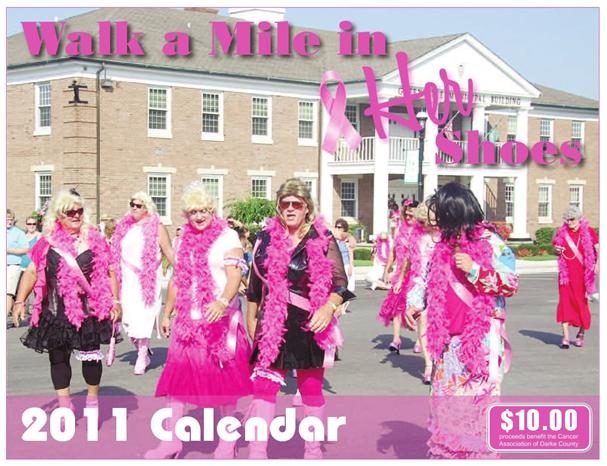 Gt 2011 Walk A Mile In Her Shoes Calendar Available At